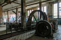 The Eisfabrik on Köpenicker Straße - A former ice making factory located near Berlin, unfortunately it was frozen out....!