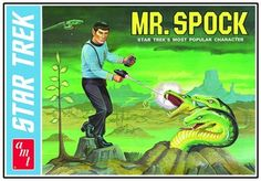 Sci-Friday Mr. Spock Model Kit Circa 1975