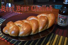 Challah bread made with Sprecher Root Beer.  Just reading it is making me salivate.