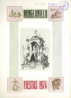 Fiestas en Minglanilla (Cuenca), del 13 al 17 de septiembre de 1974, en honor del Cristo de la Salud. #Fiestaspopulares #Minglanilla #Cuenca
