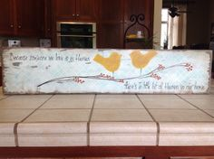 Love my new sign from: JolieCustomWoodArt @ Etsy.com Thank you so much Vickie!!!!