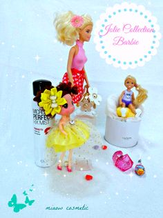 #Poupées #Barbie #color pop #makeup printemps #enfance