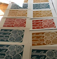 Mangle Prints: New prints