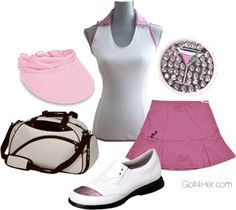 """""""Pink Golf Outfit"""" by golf4her on Polyvore"""