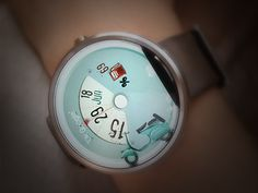 Motoroller Watch Face by Viktor Mikla for Boost Consult