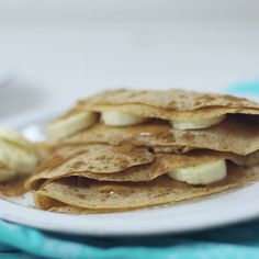 These healthy crepes are so easy to make and are super good for you, too.