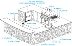 outdoor kitchens designs. Plans For U Shaped Outdoor Barbecue  Google Search Outdoor Kitchen Plans Home Improvement Designs