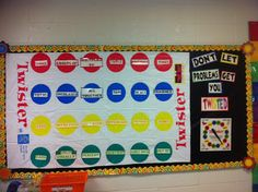 Two Sisters Teach: Bulletin Boards...love this idea but maybe for social skills and dealing with frustration or bullying