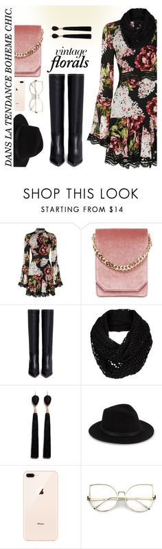 """#vintageflorals"" by liligwada ❤ liked on Polyvore featuring Nicholas, Cafuné, Valentino, The North Face, Mignonne Gavigan, Saks Fifth Avenue and vintage"