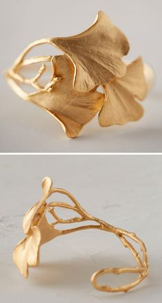 Ginko Leaf Cuff                                                                                                                                                      More