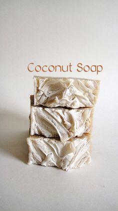 SOAP  Palm Free  100% Coconut with Aloe Vera  by PSJSoapCottage