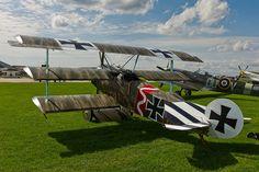 Fokker Dr.I #triplane #WW1