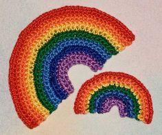 crochet rainbow free ravelry pattern
