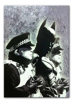 Banksy Batman