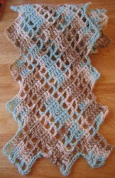 Crochargosy- one of my favorite patterns! Have made this multiple times with beautiful results. Very unique