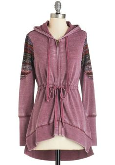 Om Is Where the Heart Is Hoodie, @ModCloth