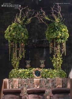 Wiccan wedding of sorts Floral Centerpieces, Wedding Centerpieces, Wedding Table, Floral Arrangements, Deco Floral, Arte Floral, Floral Design, Green Wedding, Wedding Flowers