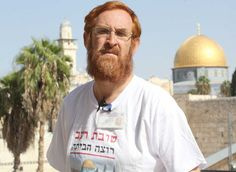 Israeli lawmaker Yehuda Glick is an activist that advocates Jewish rights to pray on the Temple Mount, which today is an Islamic holy site.