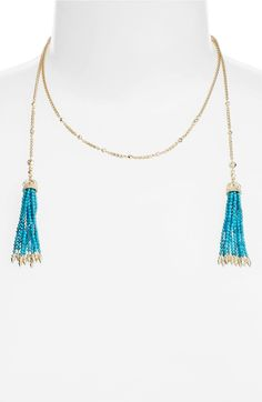Main Image - Kendra Scott Monique Tassel Necklace