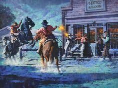 2015 // 2016 — C. Woman Riding Horse, Cowboy Pictures, Impressionist Art, Impressionism, Western Comics, Heritage Museum, West Art, Cowboys And Indians, Cowboy Art