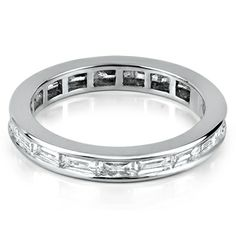 The Milano full eternity ring from Hatton Jewels