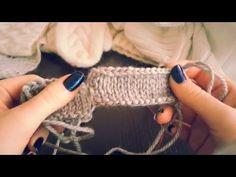 8) Как красиво закрыть петли крючком и спицами. ВЯЗАНИЕ СПИЦАМИ ДЛЯ НАЧИНАЮЩИХ. - YouTube