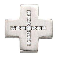 Dreambase Damen-Anhänger Kreuz mattiert Platin 13 Diamant 0.20 ct. Dreambase http://www.amazon.de/dp/B0097RDVD0/?m=A105NTY4TSU5OS
