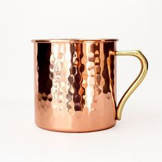 Moscow Mule Mug | the copper gets me every time!