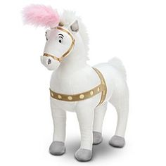 Disney Cinderella Coach Horse Plush - 14'' | Disney StoreCinderella Coach Horse Plush - 14'' - With heartfelt dreams and a ''Bibbidi-Bobbidi-Boo,'' anything is possible! Just ask Cinderella's little mice friends who became stately steeds. Our soft plush Coach Horse is bound to make wishes come true!