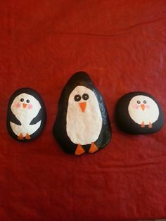 Painting rocks is so fun!  Would be fun to add to a potted plant given for Christmas.