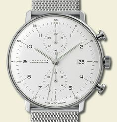 Watch // Junghans Chronoscope // Stainless Steel
