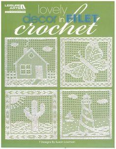 Maggie's Crochet · Lovely Decor in Filet Crochet