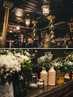 flowers in bottles, image by http://thismodernlove.co.uk/
