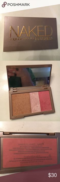 Naked flushed urban decay Rarely used. Urban Decay Makeup