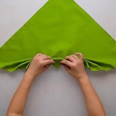 How to Fold a Napkin in 10 Beautiful Ways . The art of napkin-folding is practical for every day and holiday entertaining. making it an heirloom for family gatherings in the years to come . videos How to Fold a Napkin in 10 Beautiful Ways Napkin Folding Video, Paper Napkin Folding, Christmas Napkin Folding, Christmas Napkins, Folding Napkins, How To Fold Napkins, Diy Crafts For Gifts, Diy Home Crafts, Serviettes Roses