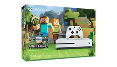Xbox One S Minecraft Bundle Announced  Microsoft has revealed an Xbox One S Minecraft bundle featuring a 500GB console Minecraft: Xbox One Edition and over 230 character skins.  The bundle is now available in the US and Canada for $300 USD according to Xbox Wire. It'll then be released in Europe on October 11 and in Australia and New Zealand on November 1. A release date hasn't been set for Asian and Latin American markets.  Xbox One S Minecraft Bundle packaging via Xbox Wire  Continue…