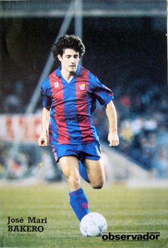 Jose Mari Bakero el gran captià dle Dream Team F.C. Barcelona
