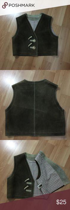 Leather vest made in Australia Echtes Leder Cool vest, made in Australia in good condition. Wir Empfehlen Other