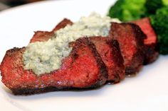 Beef with Blue Cheese Butter