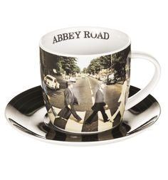Boxed Beatles Abbey Road Cup And Saucer Set