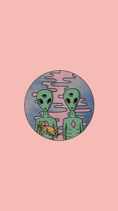 Concealer Declutter – Concealer I'm Throwing Out cute alien wallpaper Psychedelic Art, Alien Aesthetic, Aesthetic Art, Aesthetic Iphone Wallpaper, Aesthetic Wallpapers, Alien Iphone Wallpaper, Tumblr Wallpaper, Wallpaper Backgrounds, Gemini Wallpaper