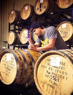 Tallgrass Brewing Co ‏-  Can you smell what we've got cookin'? We are barrel aging some of our beer and releasing the aged brews in 2015!