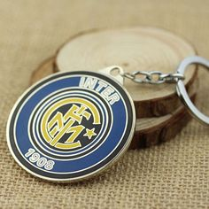 FC INTER 1908 KEYCHAINS @ Size: 5.2 x 5.2cm
