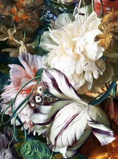 Jan van Huysum - Bouquet of Flowers in an Urn - 1724