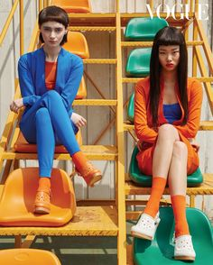 Bae Yoon Young in Vogue Korea with Yoon Young Bae Fashion Editorial Vogue Fashion, Fashion Shoot, Editorial Fashion, High Fashion, Vogue Editorial, India Fashion, Ritter Sport, Vogue Korea, Vogue India