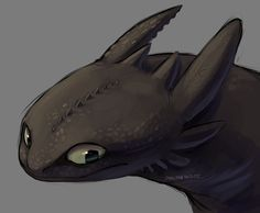 Simple like….chill paint of Toothless. Pretty generic but relaxing UvU