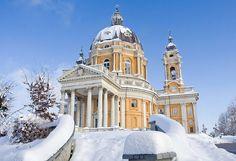 La Basilica di Superga, Torino, Italy