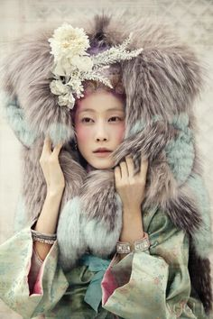 Powdery Flower, Vogue Korea January 2014 | P.S. Korea