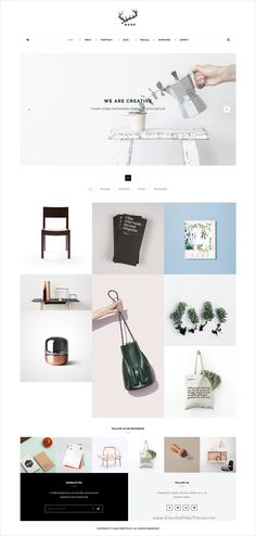 Rose is a #minimal portfolio Bootstrap #HTML5 Template for minimalist #agency, architecture website with 2 amazing homepage layouts download now➩ https://themeforest.net/item/rose-minimalist-agency-architecture-blog-template/17219193?ref=Datasata