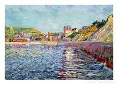 Port-En-Bessin, Calvados, C.1884 Giclee Print by Paul Signac at AllPosters.com